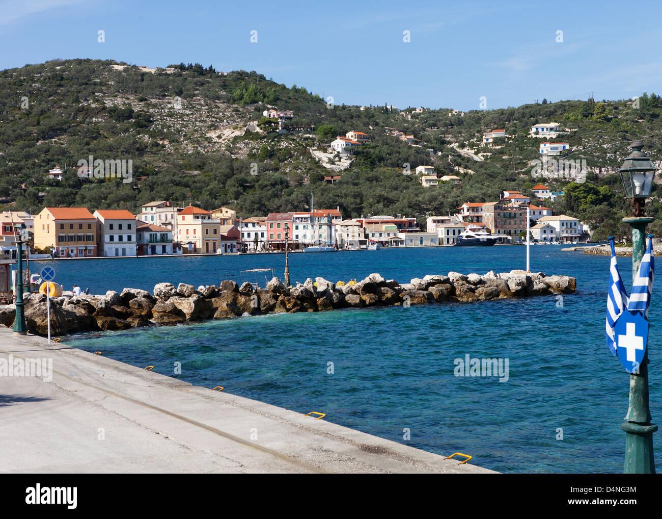 Gaios Harbour, Paxos - Stock Image
