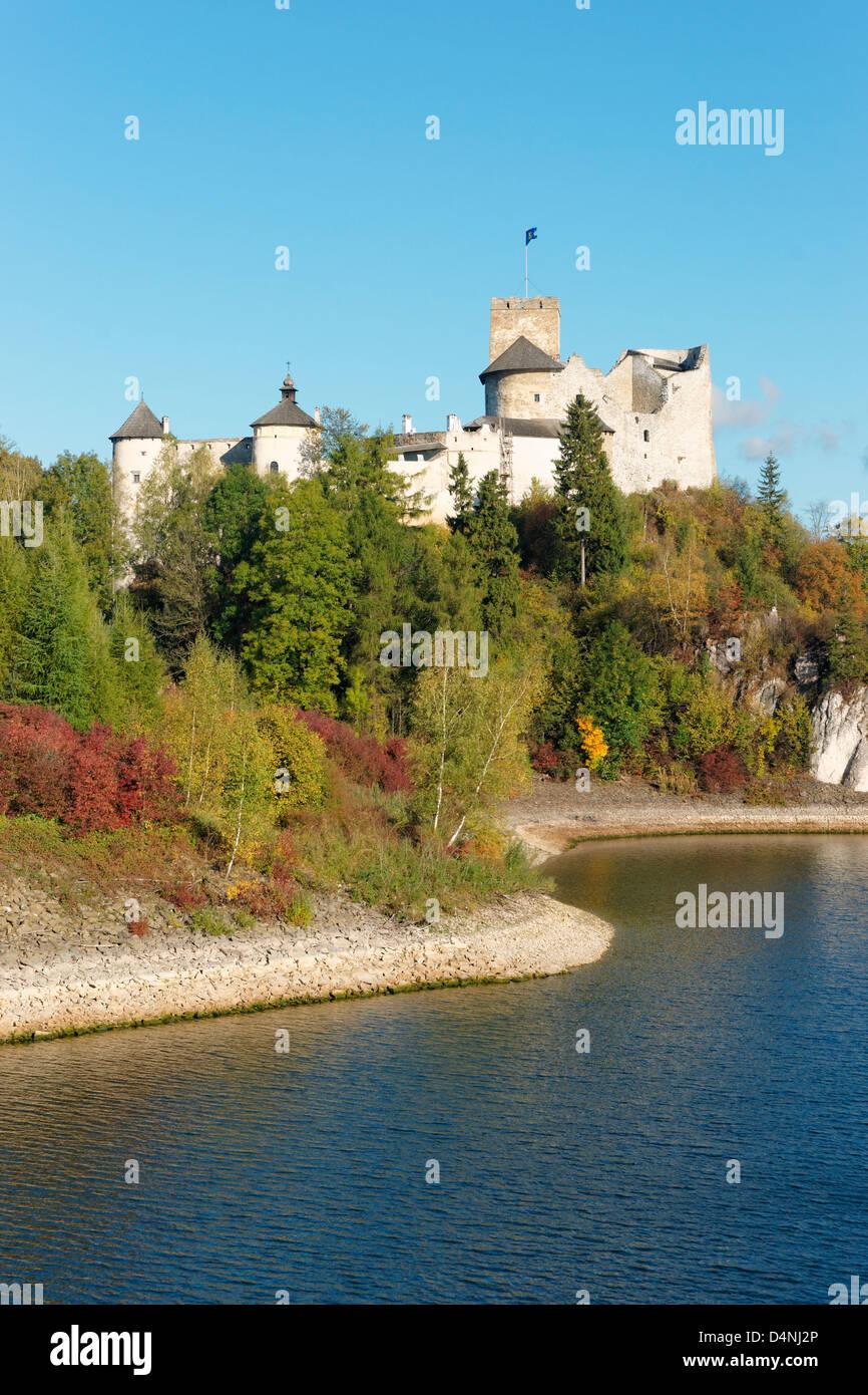 Castle Dunajec, Malopolska, Poland - Stock Image