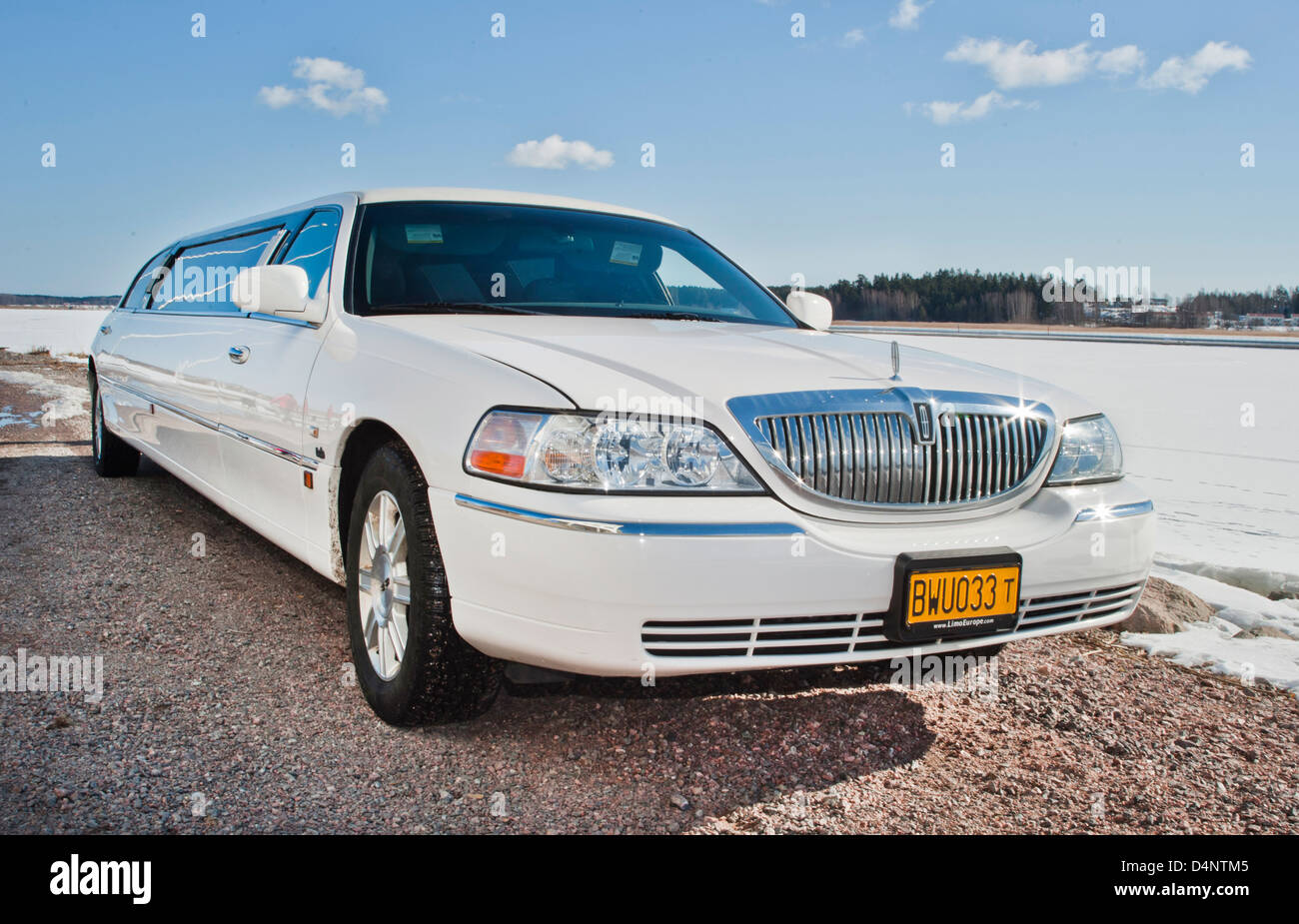 limousine - Stock Image