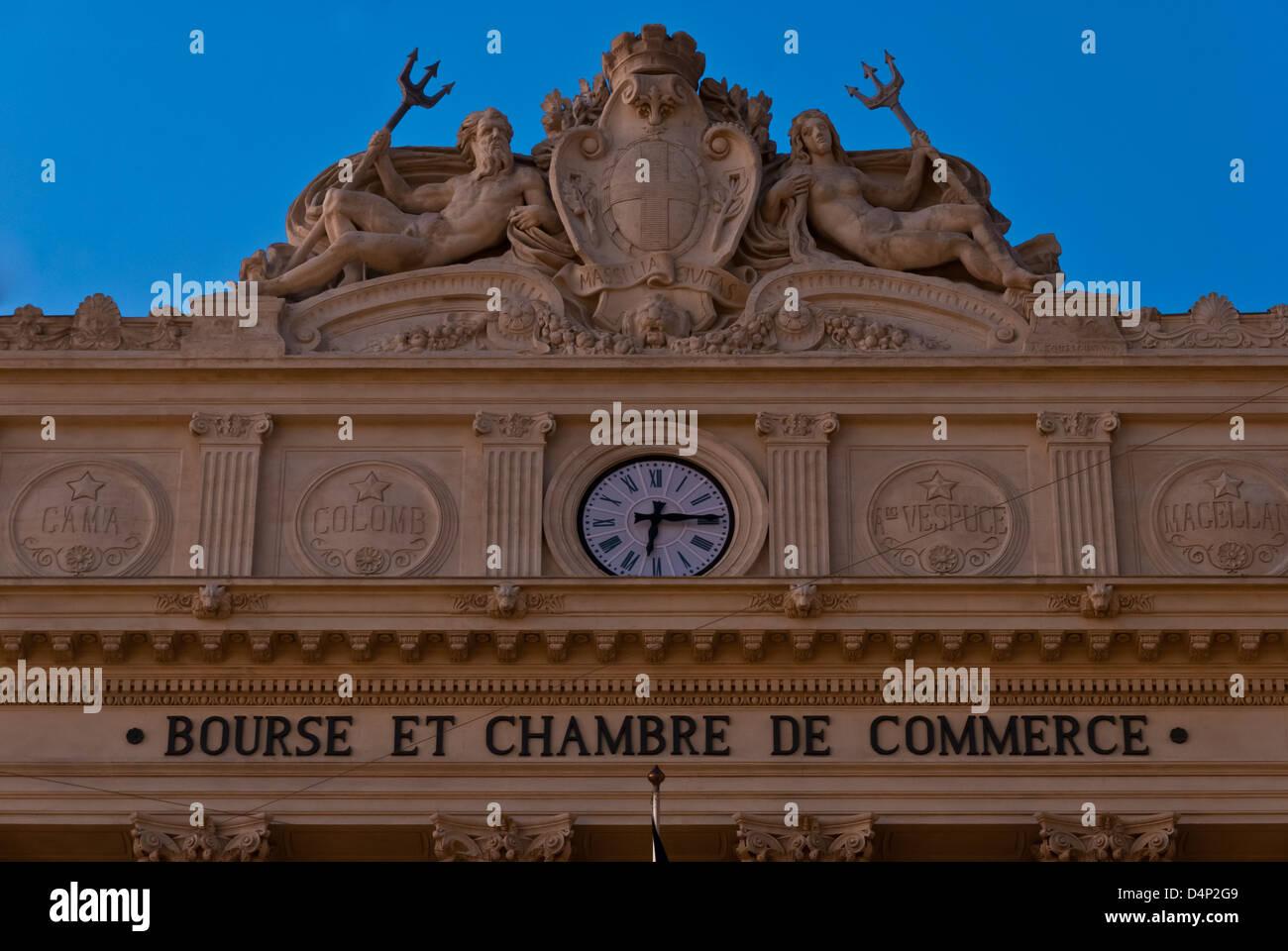 Bourse du commerce stock photos bourse du commerce stock images alamy - Chambre des commerce marseille ...