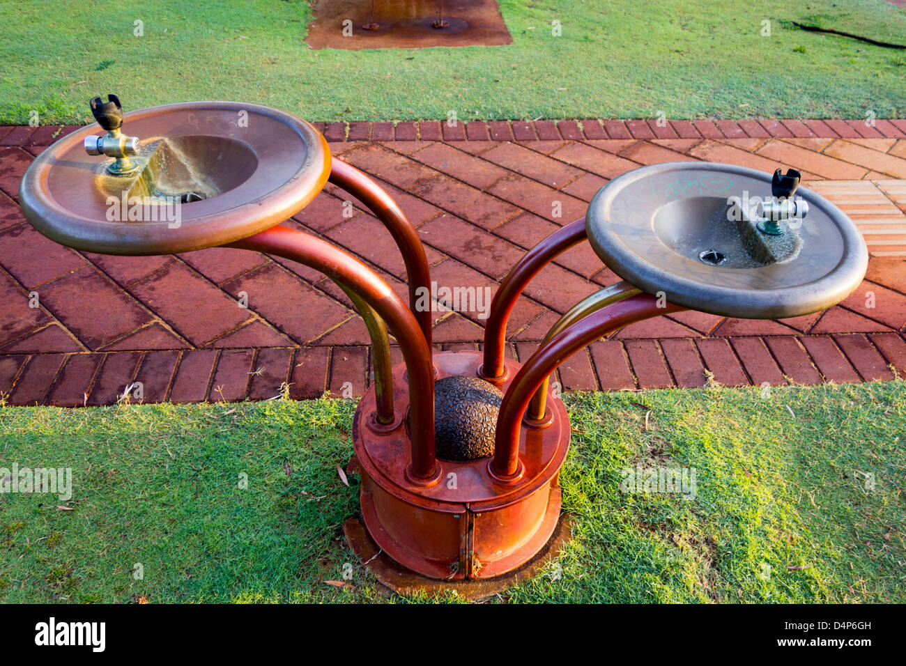 Water drinking fountain - Stock Image