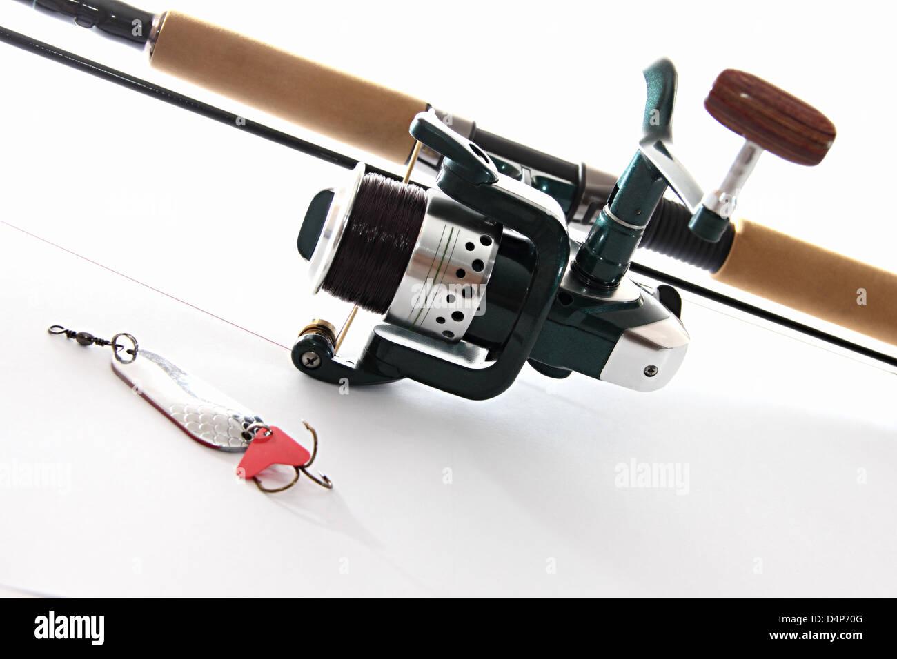 fishing tackles - Stock Image