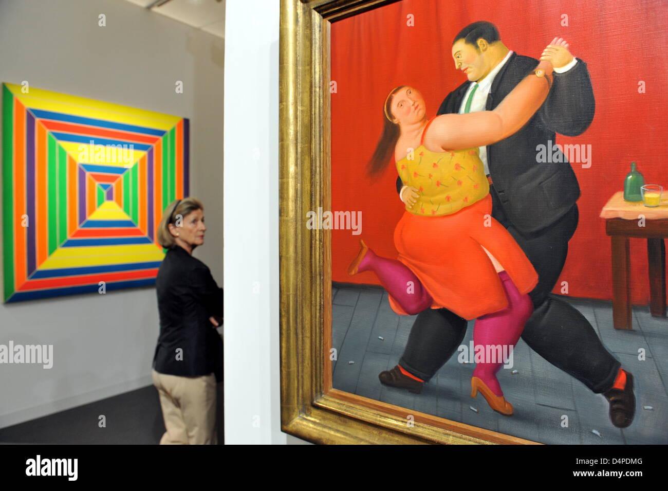 Botero Paintings Dancing