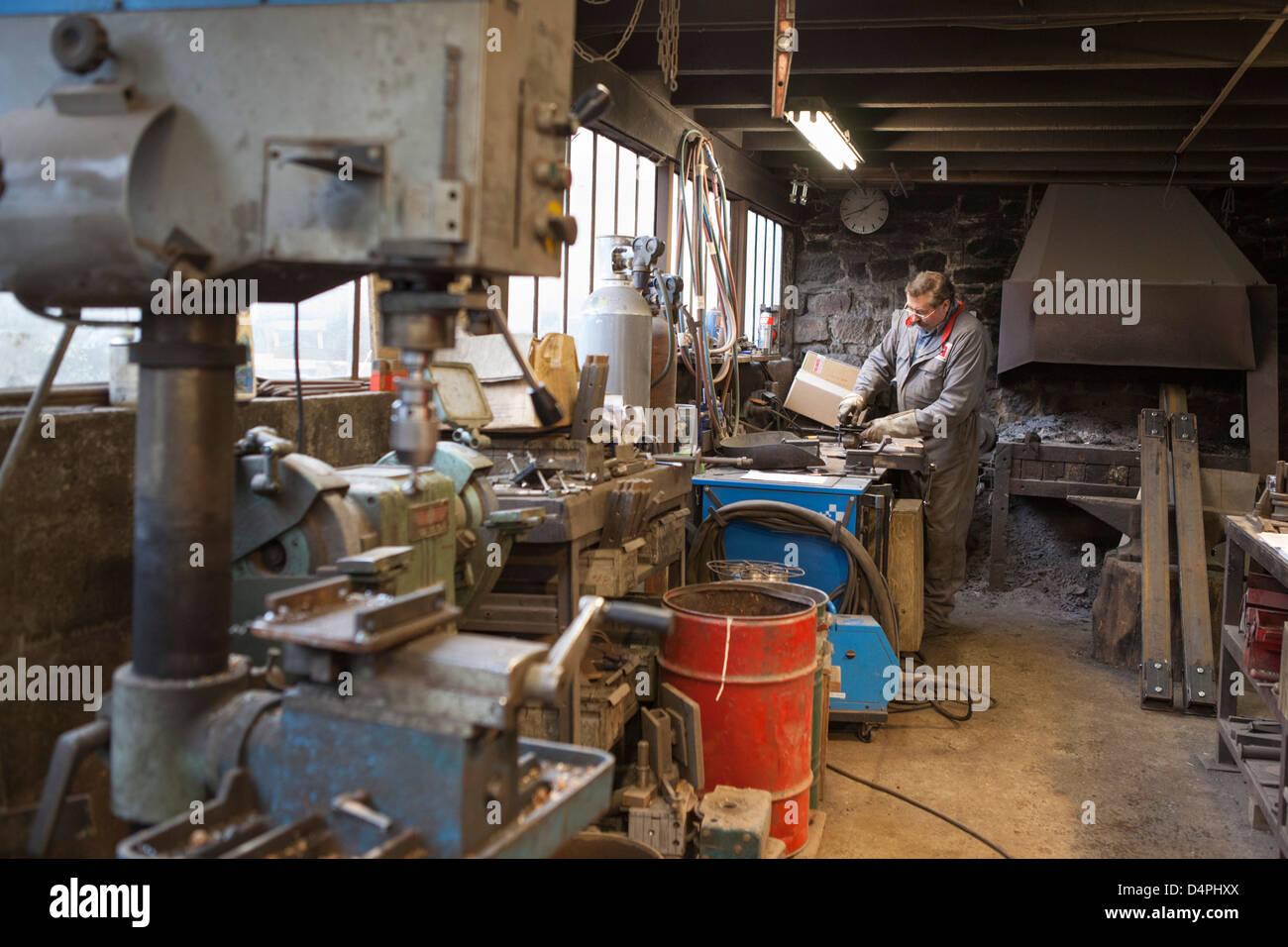 Craftsman at work - Stock Image