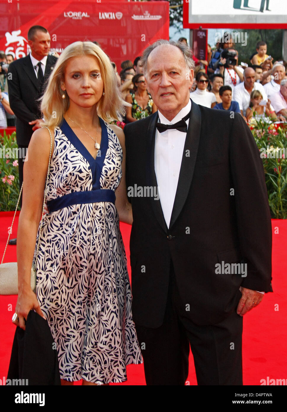 Director Werner Herzog Wife Lena Stock Photos & Director ...