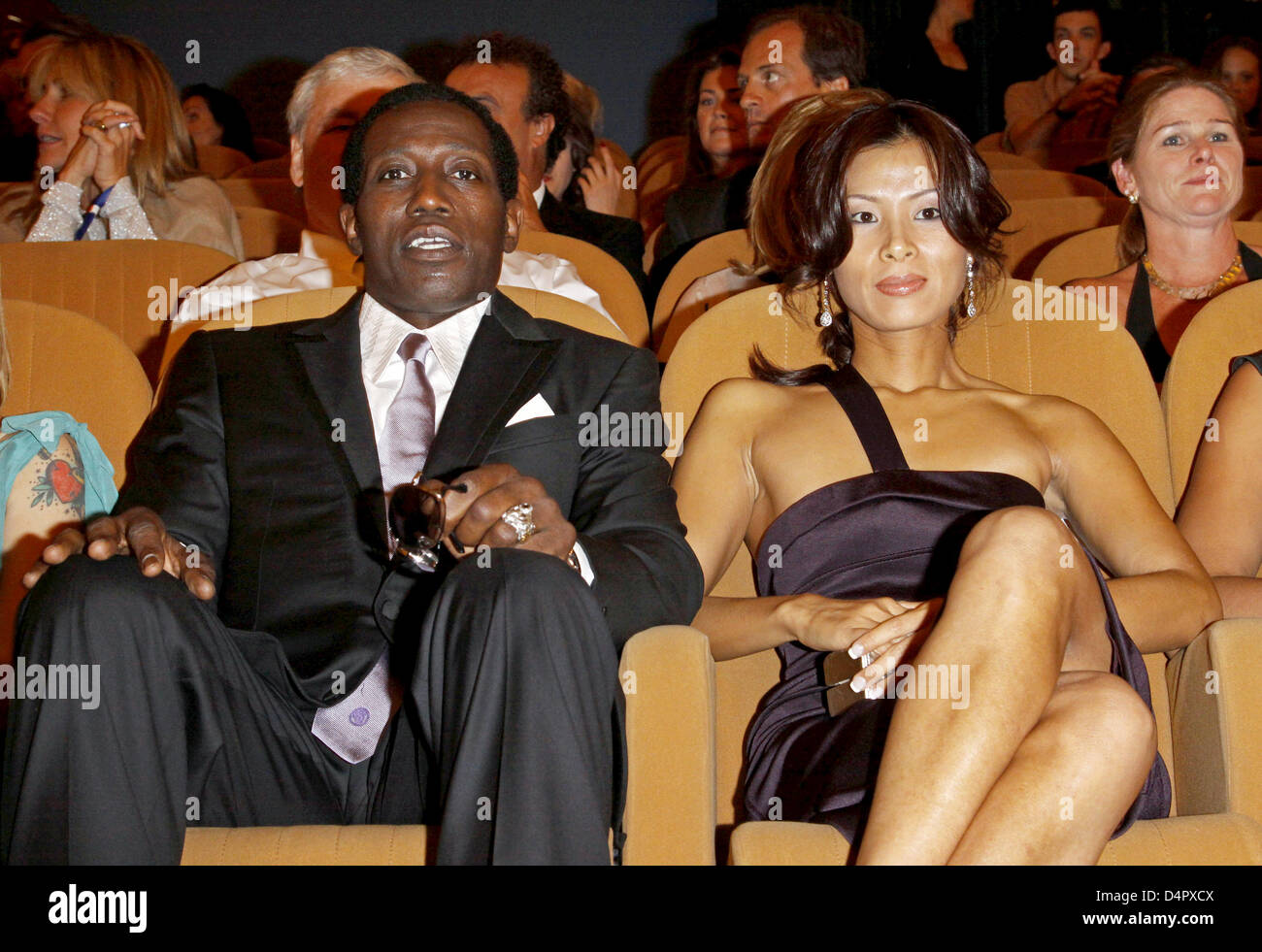 Wesley Snipes And Nikki Park High Resolution Stock Photography And Images Alamy