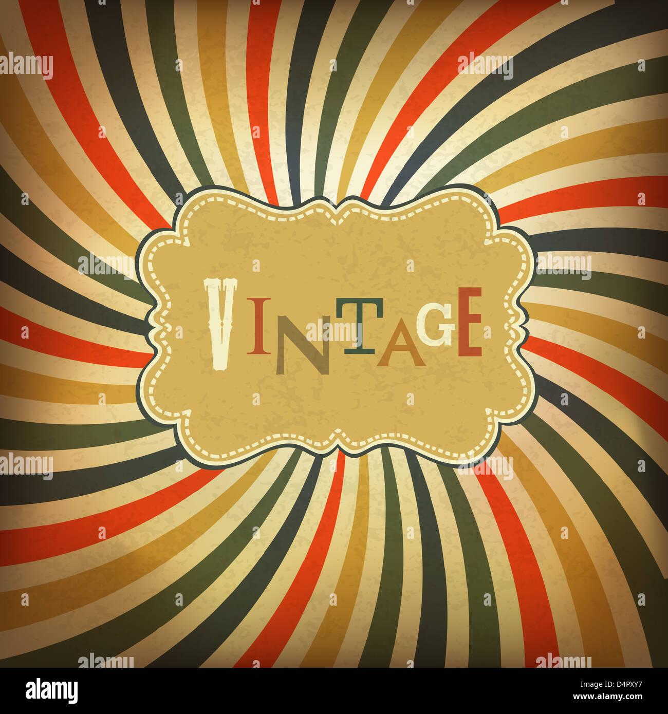 Grunge vintage background - Stock Image