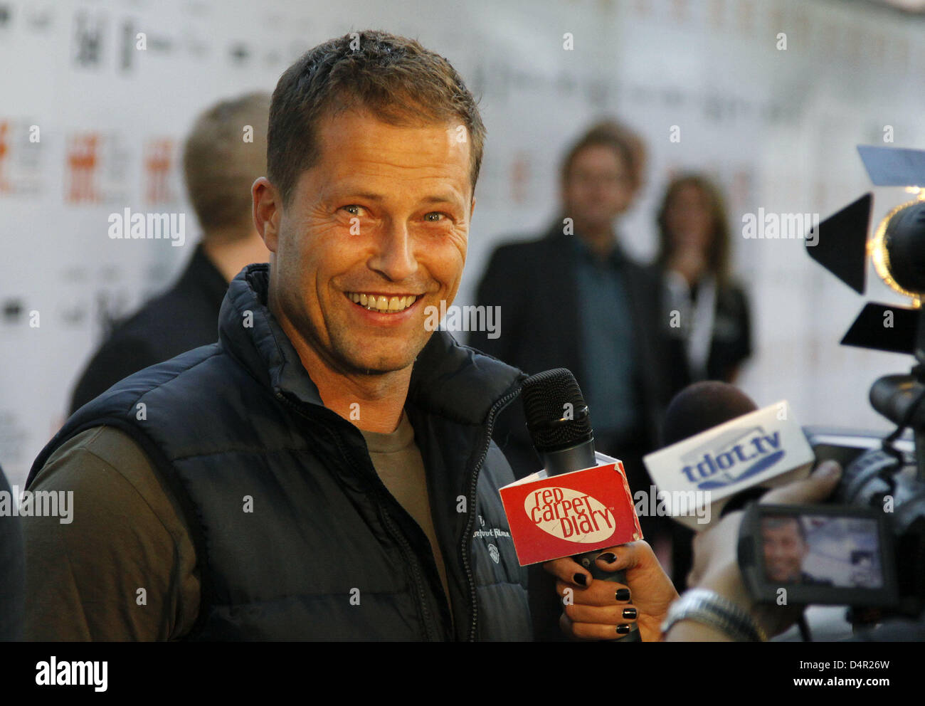 German Actor Til Schweiger Arrives For The North America