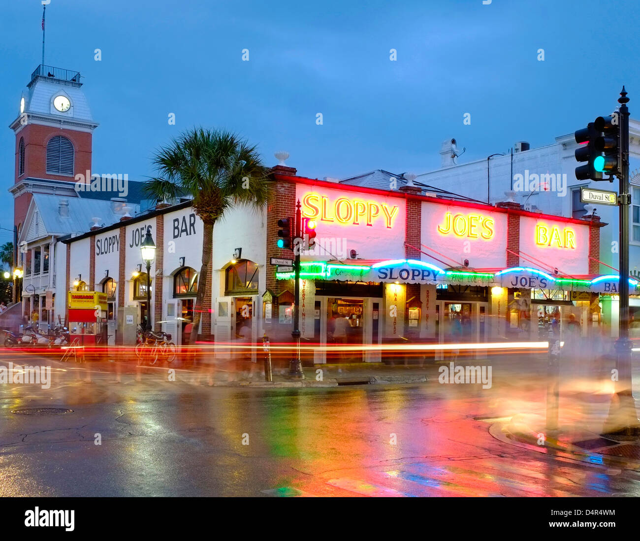 Sloppy Joe's Bar, Key West, Florida, America - Stock Image