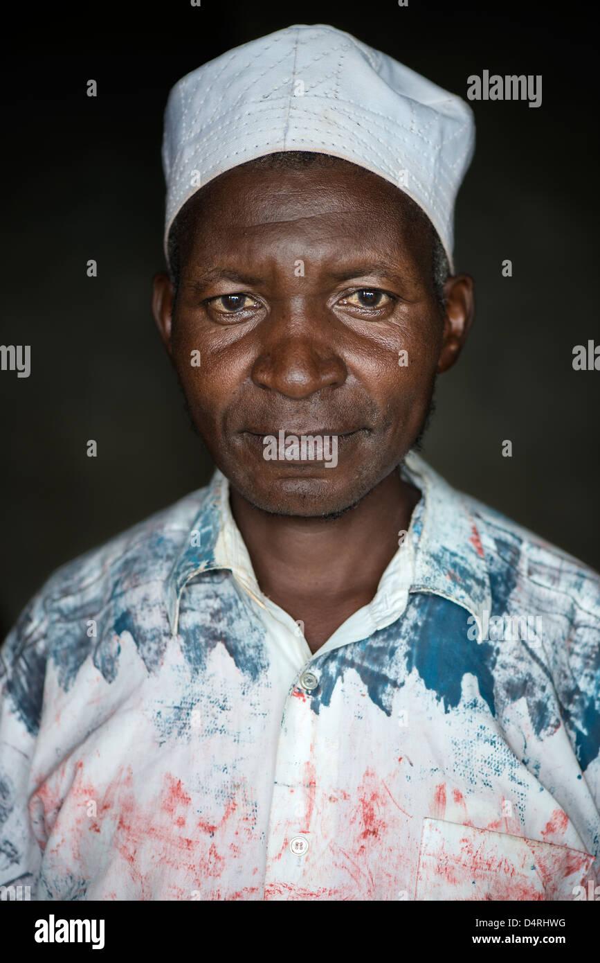 Tanzanian man - Stock Image