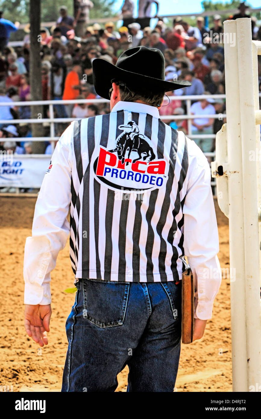 Cowboy Judge At The Florida State 85th Championship Rodeo