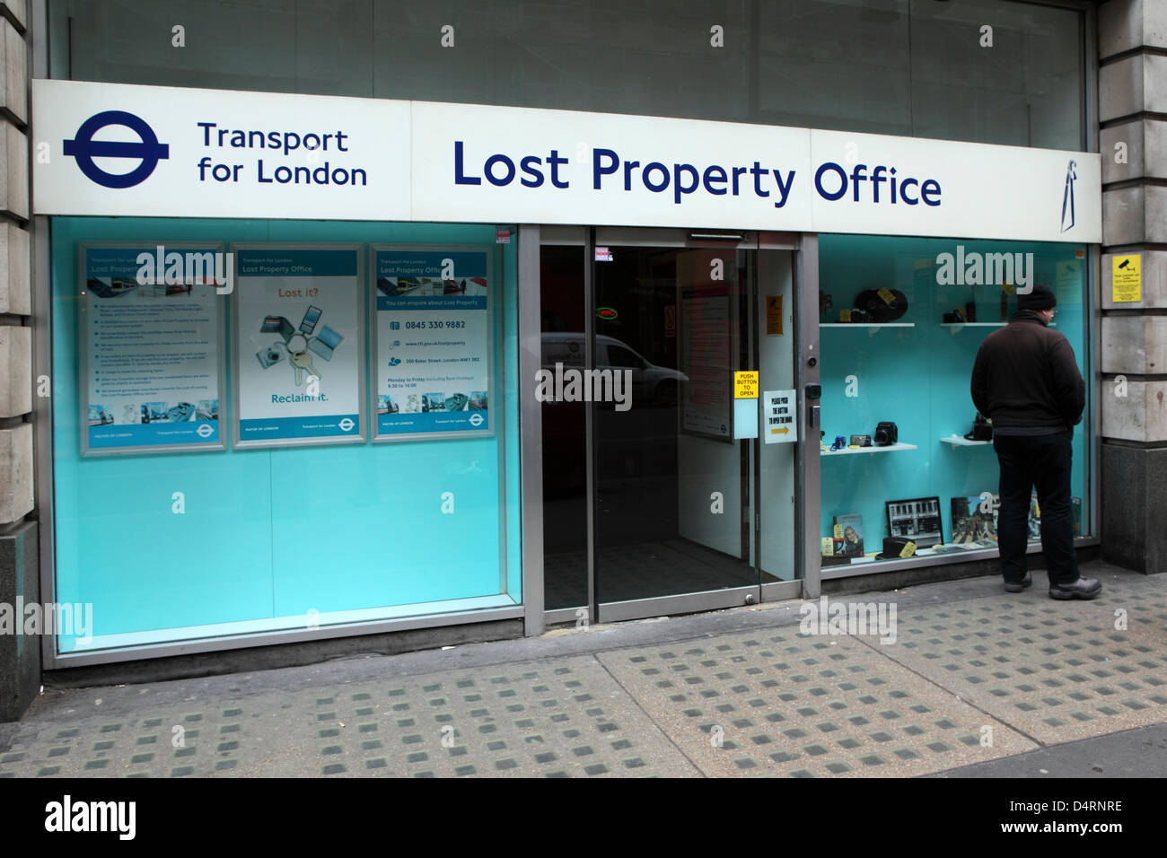 Lost Property Office Stock Photos & Lost Property Office