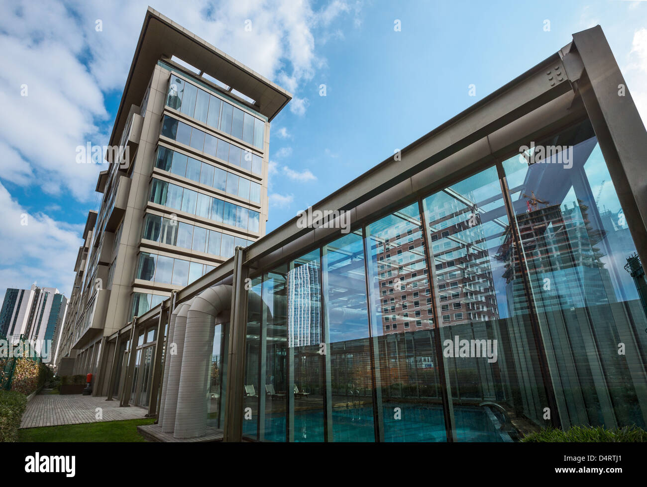 Europe Turkey Istanbul, the Levent  Loft designed by the architect Tabanlioglu - Stock Image