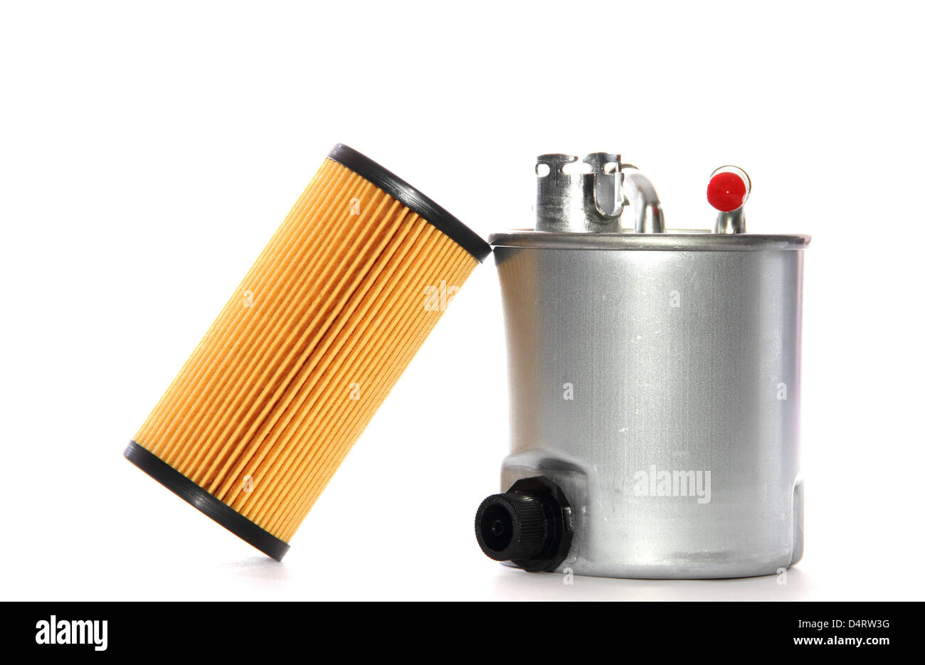 fuel filter and oil filter cartridge stock photo 54614324 alamy Replacement Filter Cartridges fuel filter and oil filter cartridge
