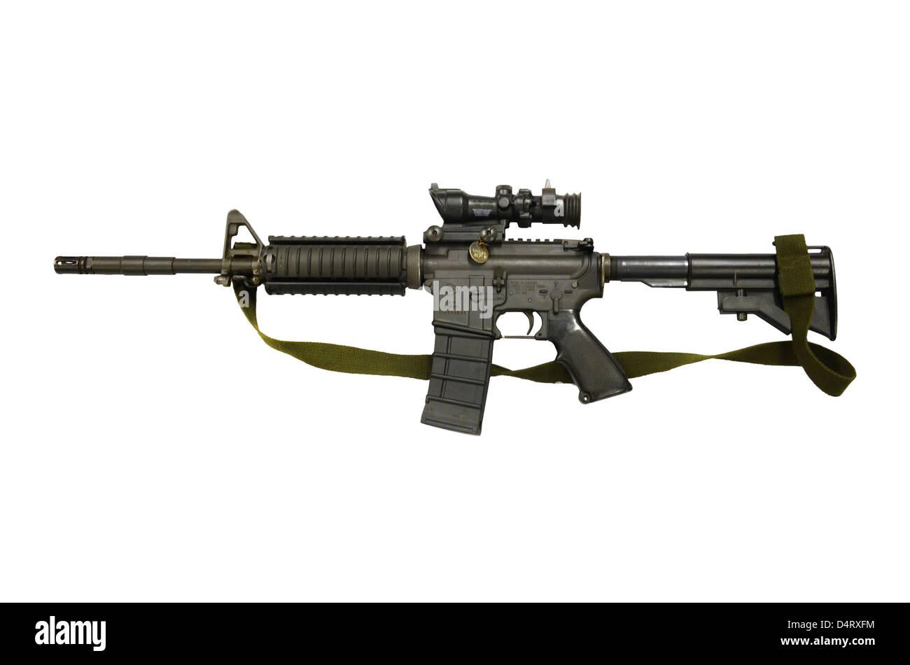 Diemaco C8 carbine. - Stock Image