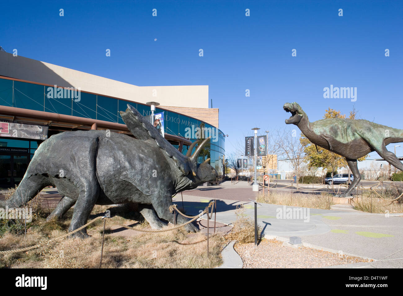 Albuquerque: New Mexico Museum of Natural History & Science - Stock Image
