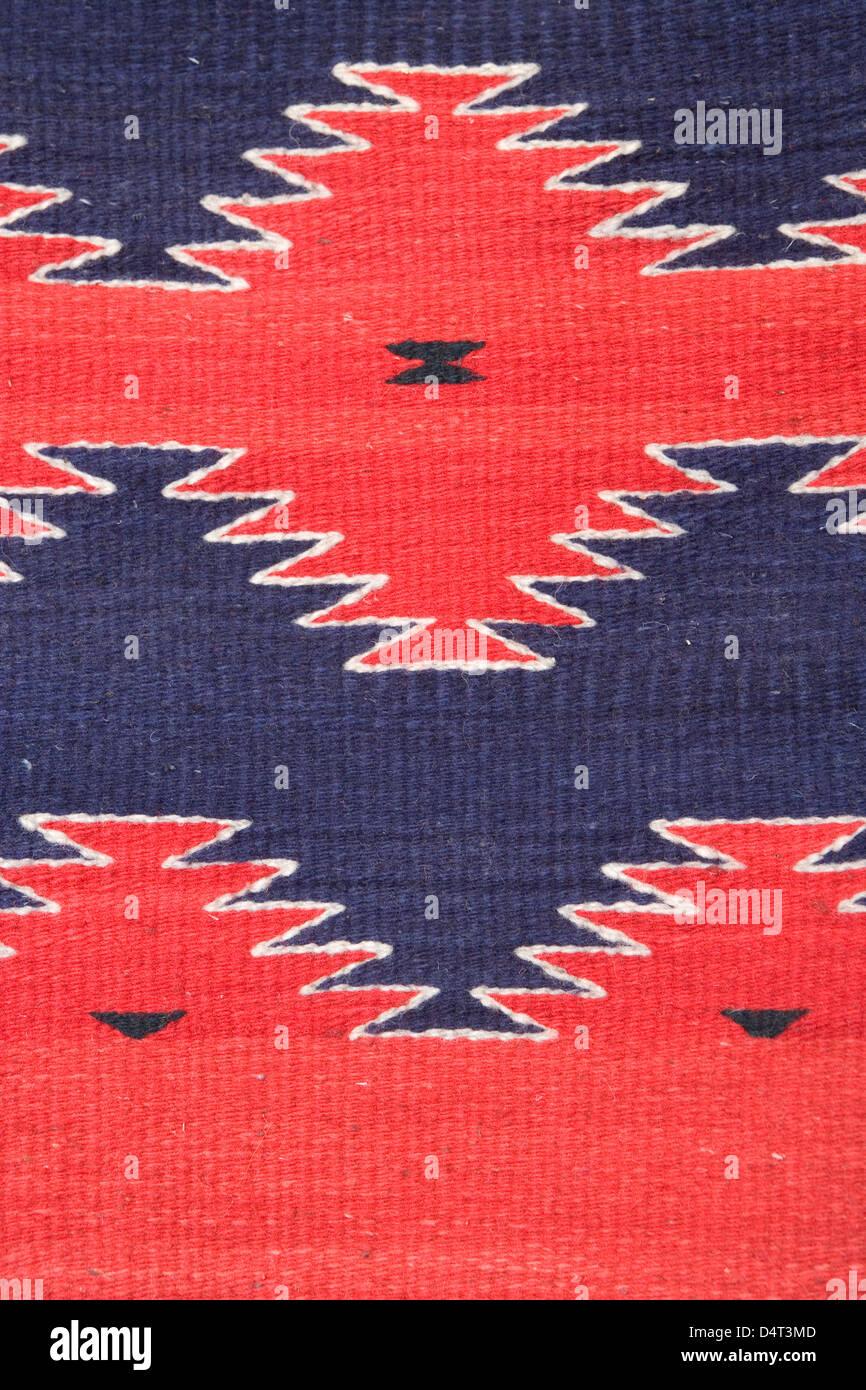 Santa Fe Ethnic Indian Rug Blanket Stock Photo 54619501 Alamy