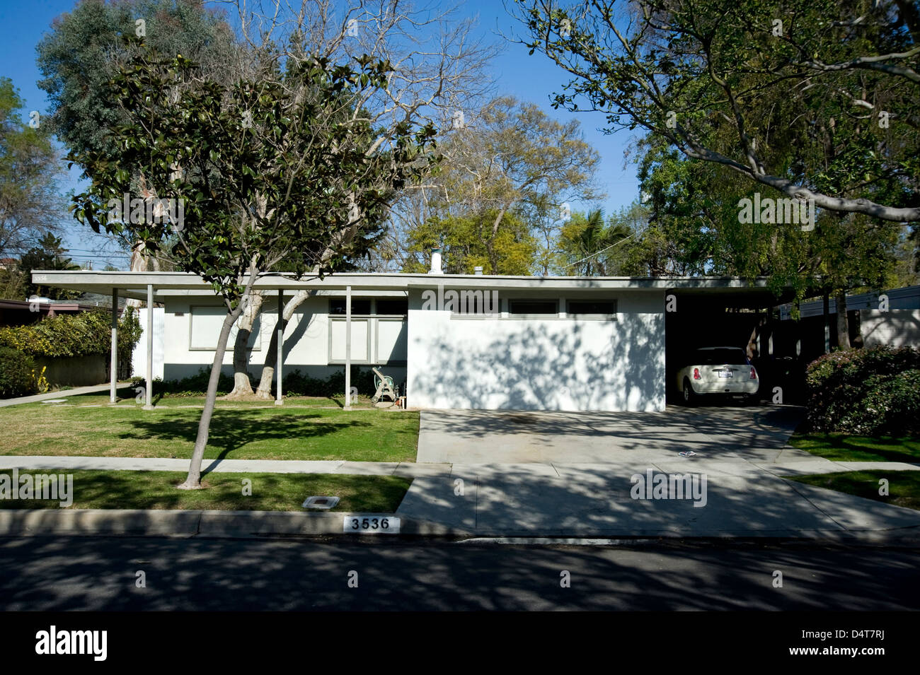 Modern Architecture Los Angeles case study house 1960's mid-century modern architecture in