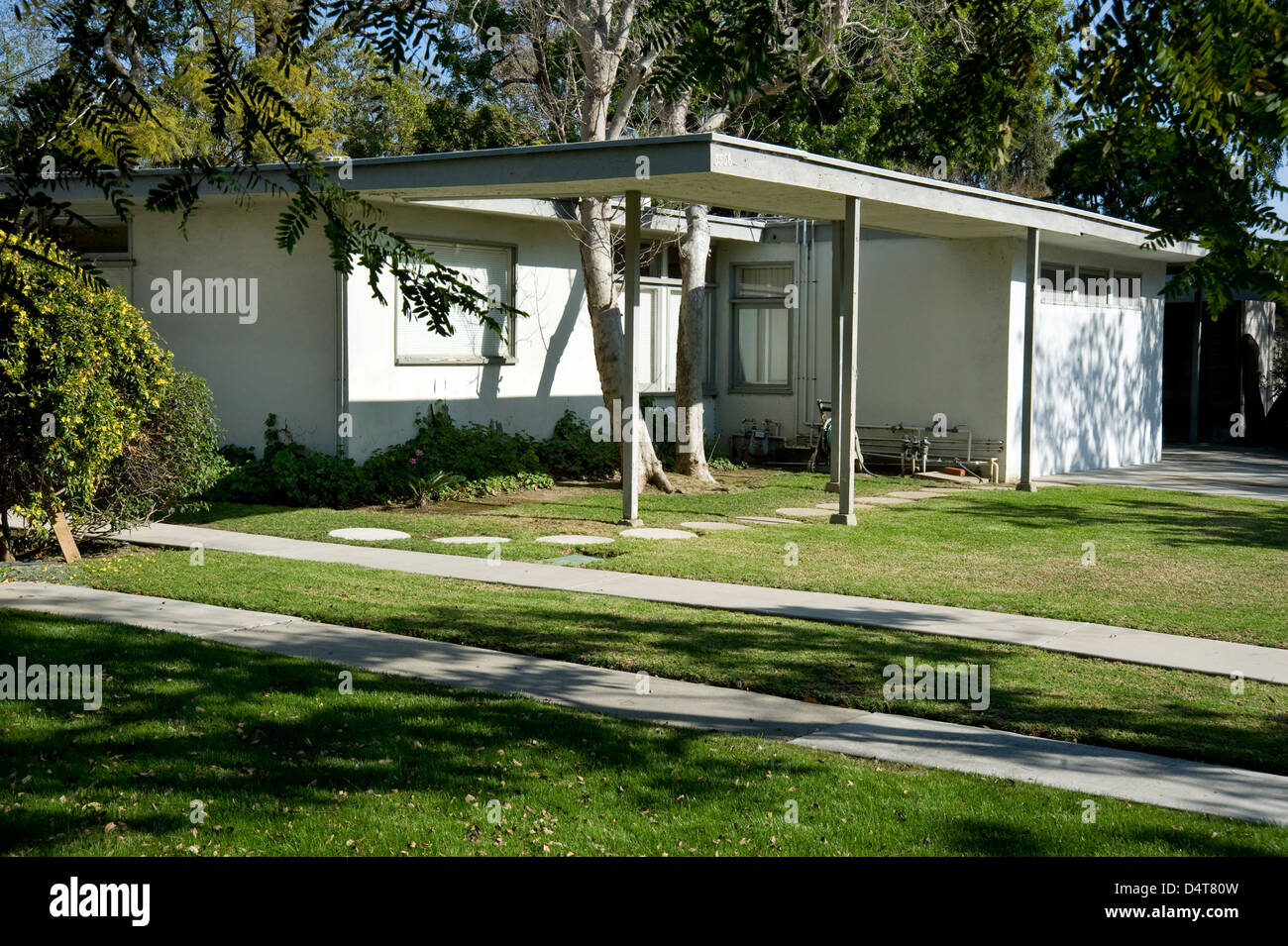 Case Study house 1960\'s mid-century modern architecture in West ...