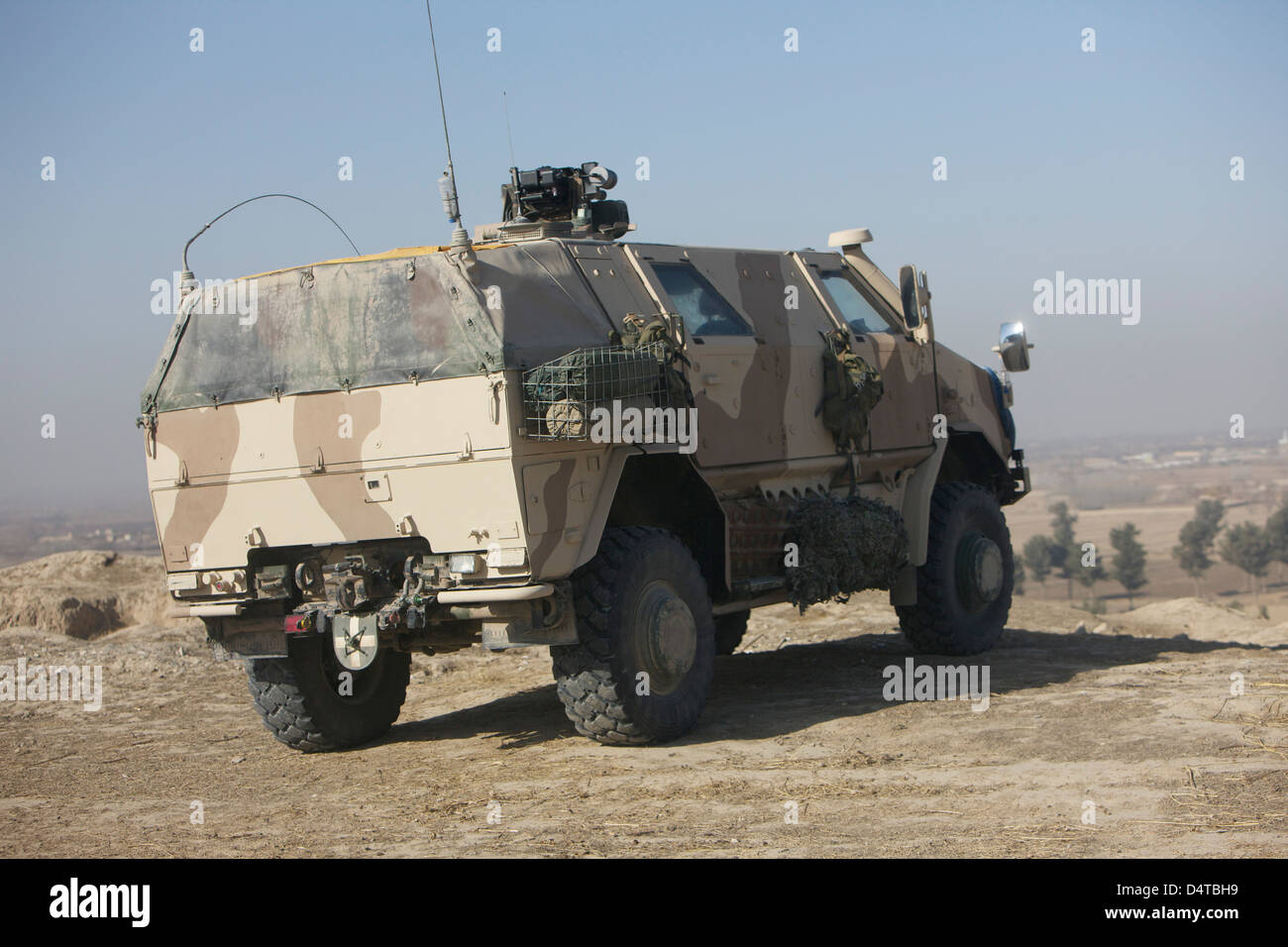 The German Army ATF Dingo armored vehicle. - Stock Image
