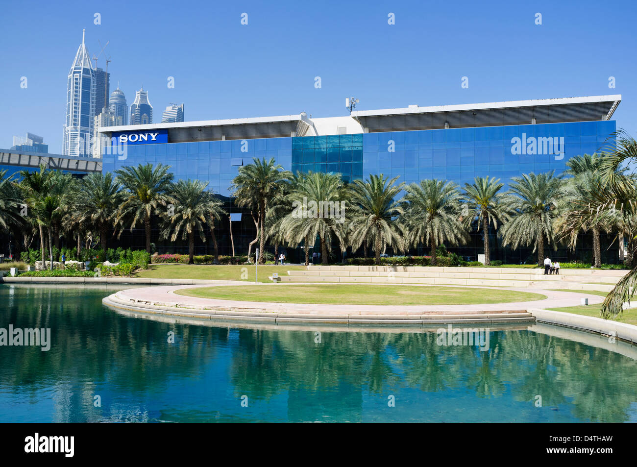 Office Park Building Dubai Internet City