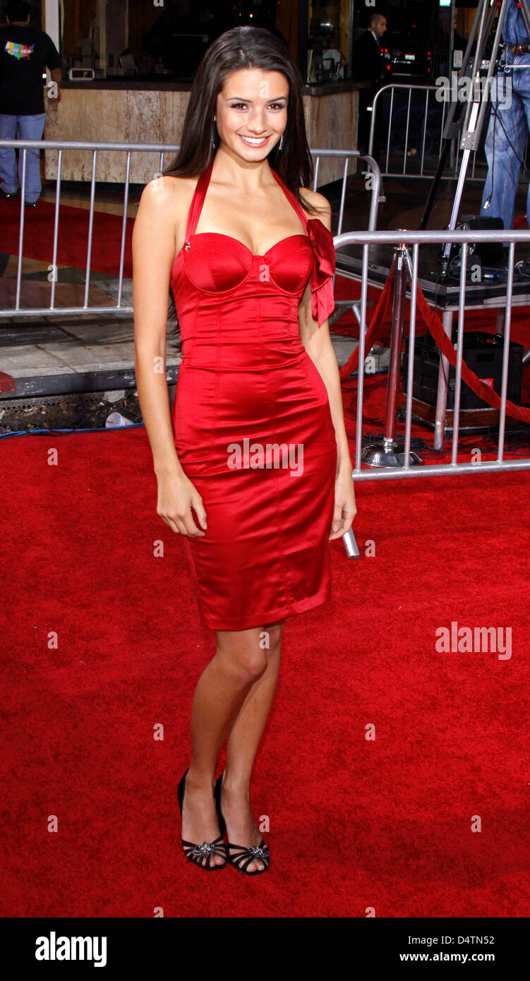 Actress Alice Greczyn arrives at the world premiere of the film 'Twilight: New Moon' at Bruin and Village - Stock Image