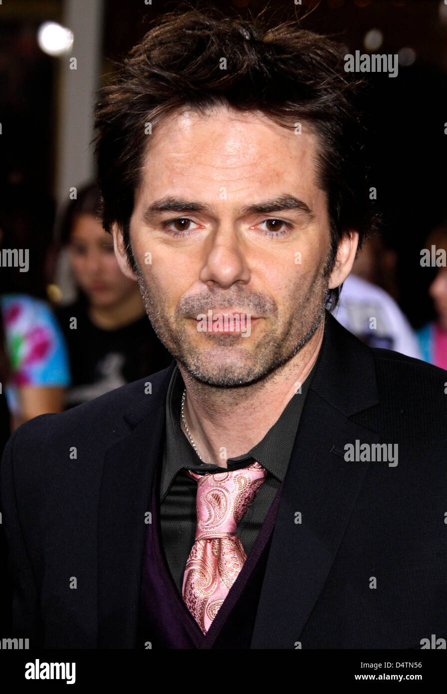 Actor Billy Burke arrives at the world premiere of the film 'Twilight: New Moon' at Bruin and Village Theaters - Stock Image