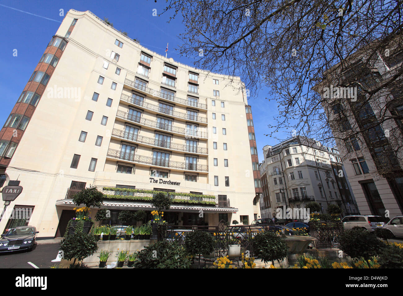 united kingdom west london park lane the dorchester hotel - Stock Image