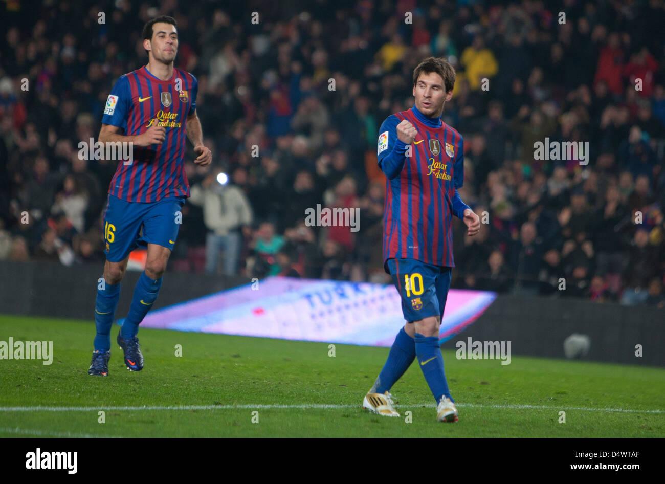Barcelona, Spain, Leo Messi, FC Barcelona - Stock Image