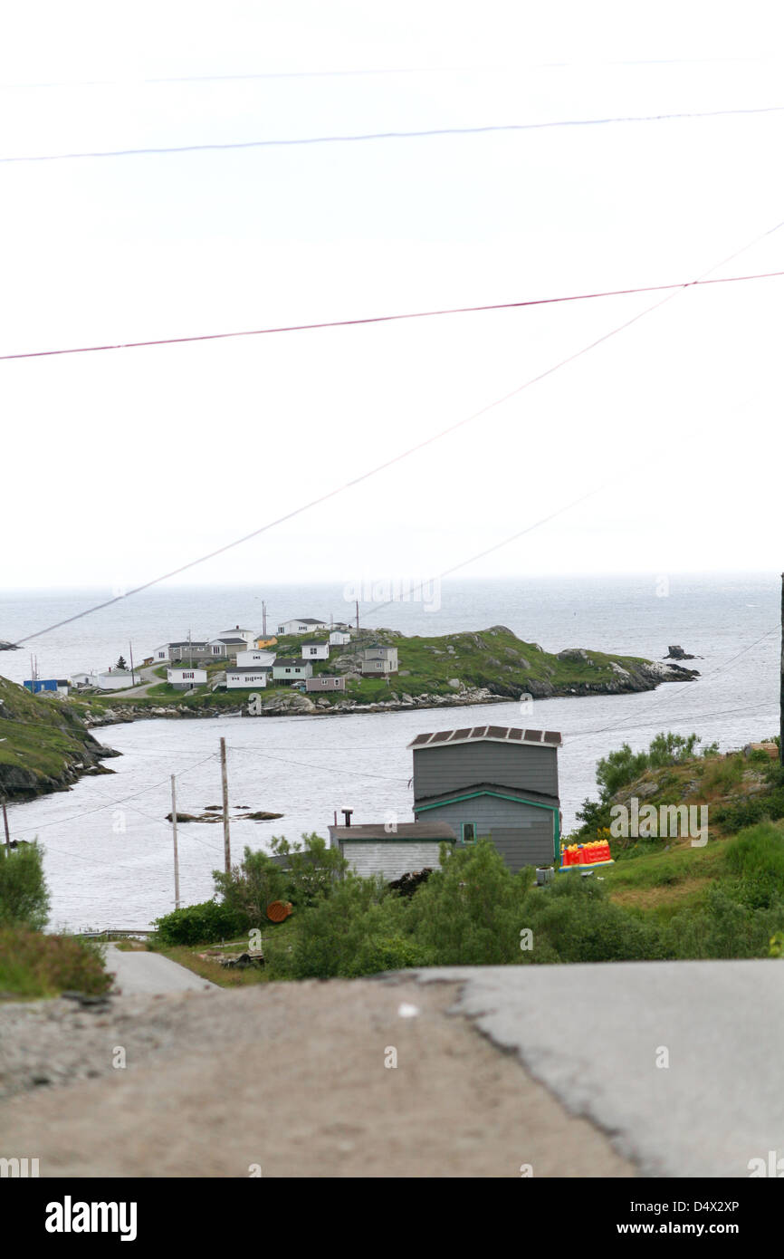 Rose Blanche is a scenic fishing villiage located in Newfoundland. The Canadian Press Images/Lee Brown - Stock Image