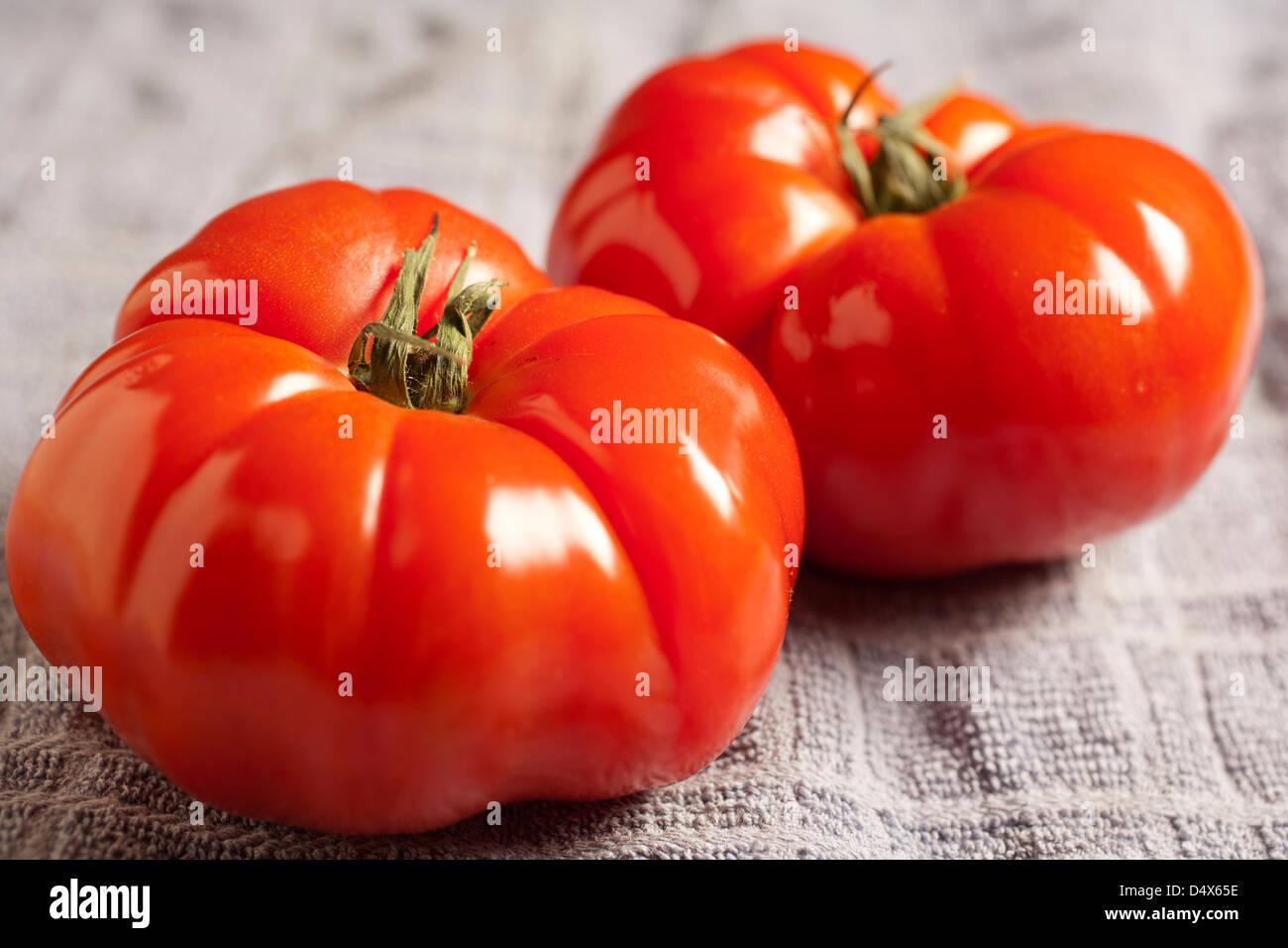 Beefsteak Tomatoes - Stock Image