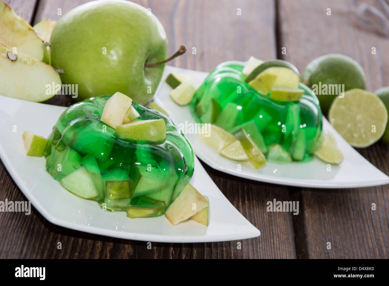 Green Jello Stock Photos Green Jello Stock Images Alamy