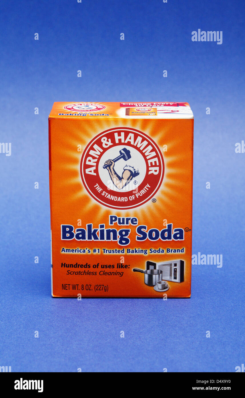 Baking soda (sodium bicarbonate Stock Photo: 54668292 - Alamy