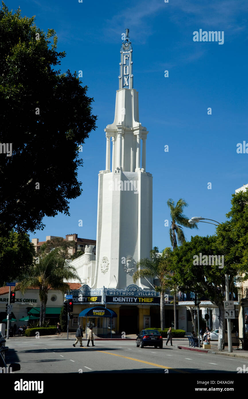 The Fox theater in Westwood Village - Stock Image