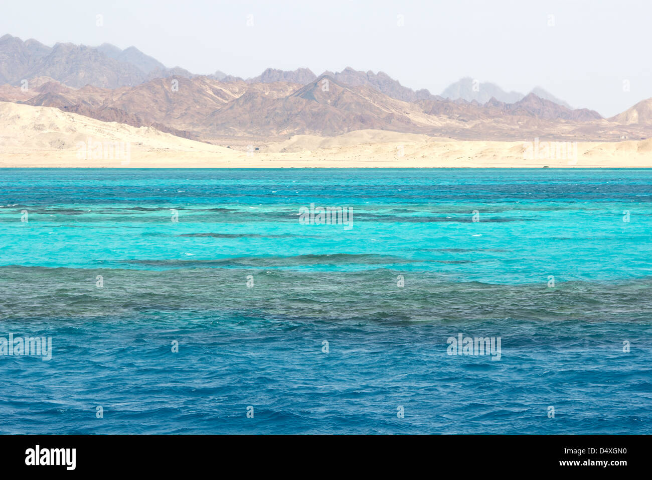 Ras Mohammed in the Red Sea - Stock Image