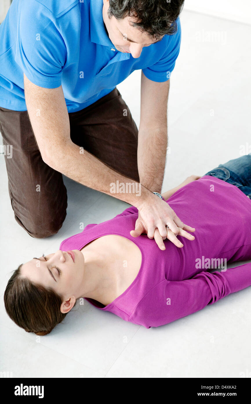 FIRST AID - Stock Image