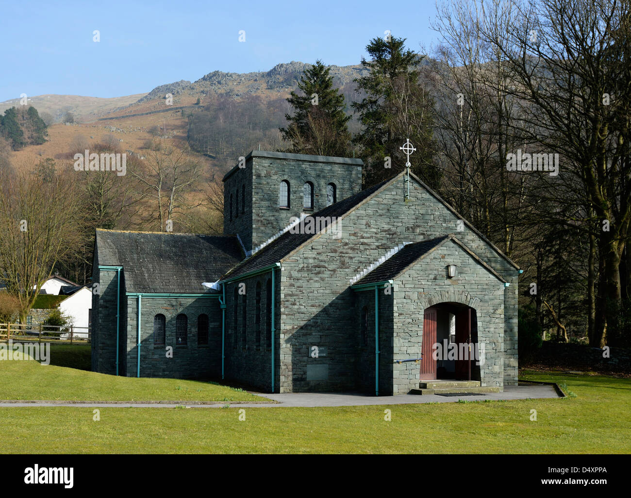 Our Lady Of The Wayside >> Church Of Our Lady Of The Wayside Grasmere Lake District National
