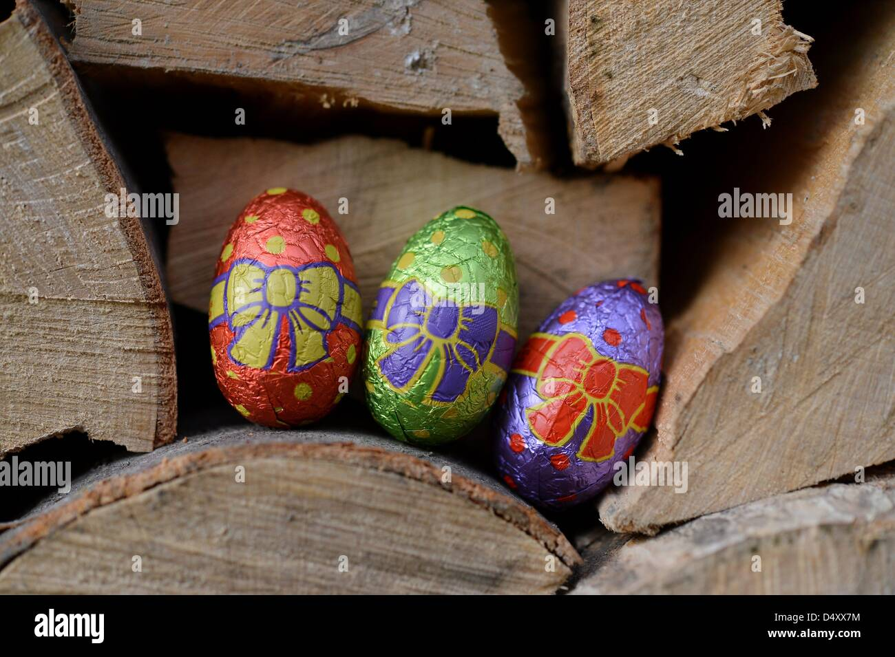 A hidden easter surprise in the garden. Photo: Frank May Stock Photo