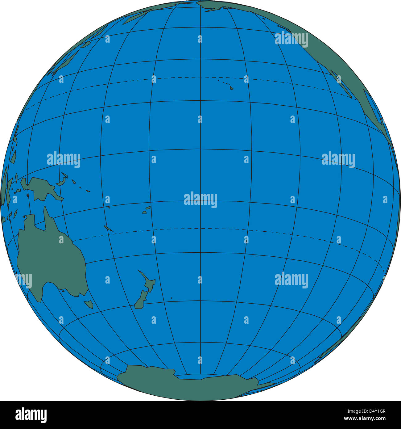 World map globe south pacific ocean stock photo 54683687 alamy world map globe south pacific ocean gumiabroncs Choice Image