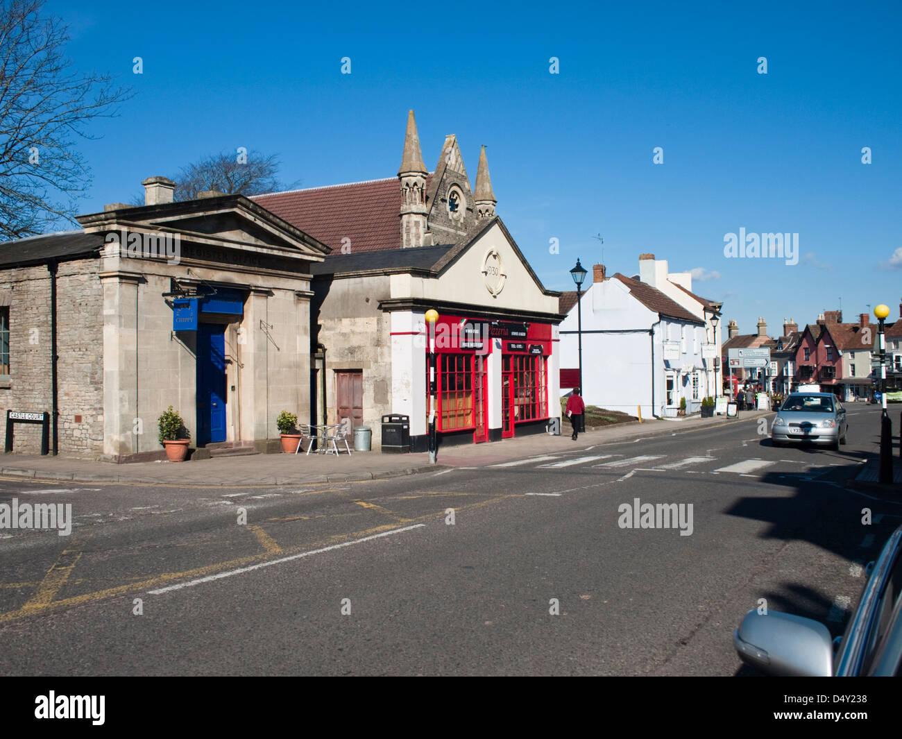Thornbury in Gloucestershire England UK Stock Photo