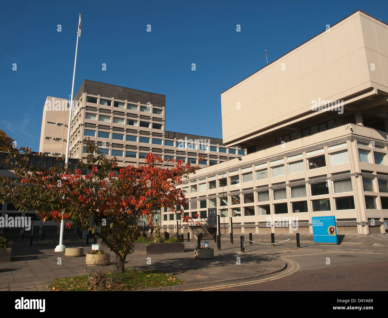 National Savings and Investments building Durham England UK - Stock Image