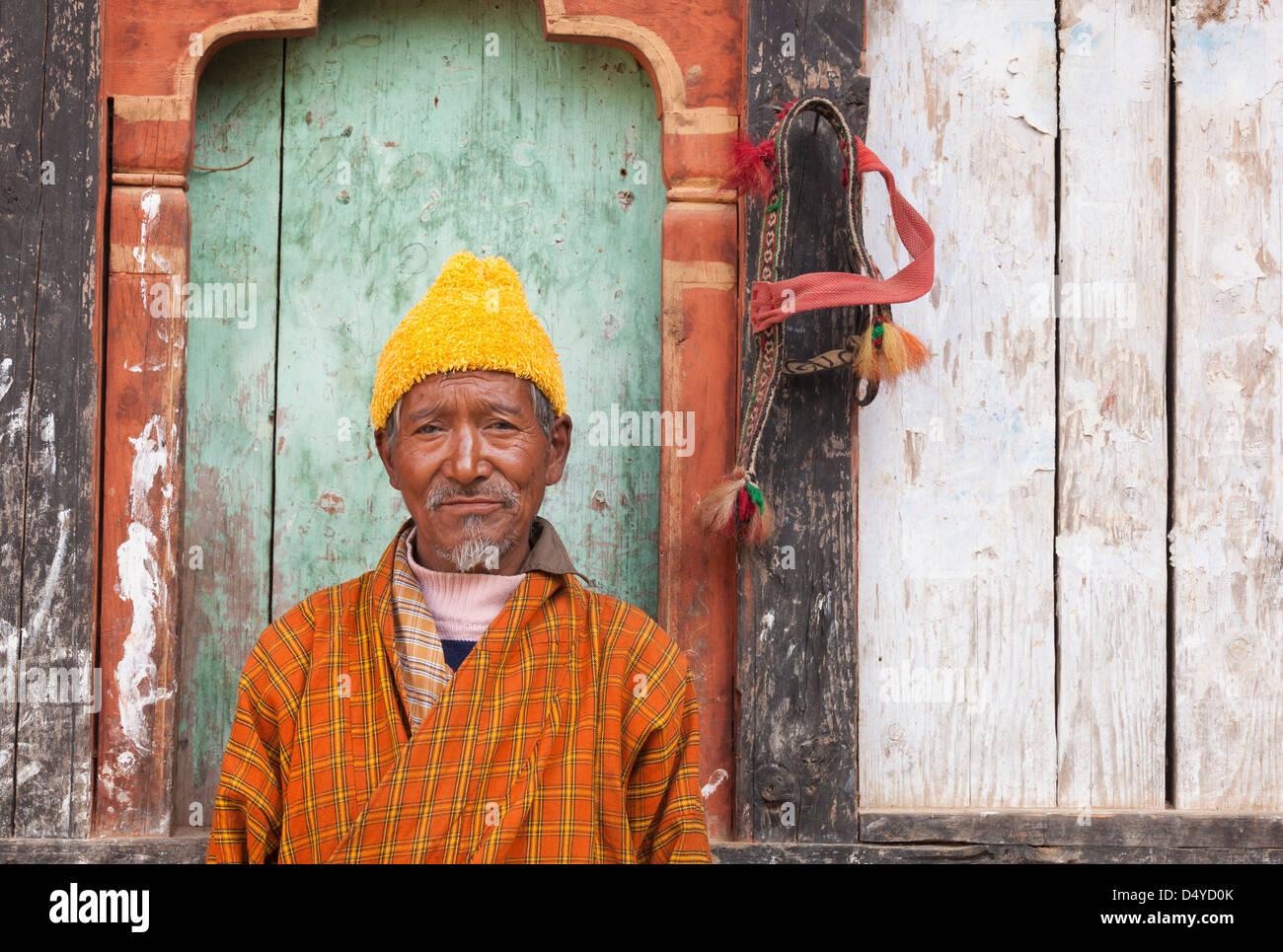 Portrait, Bhutan - Stock Image