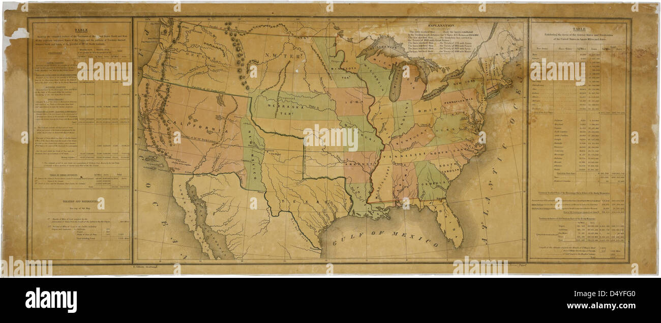 United States Map Slavery Stock Photos & United States Map Slavery ...