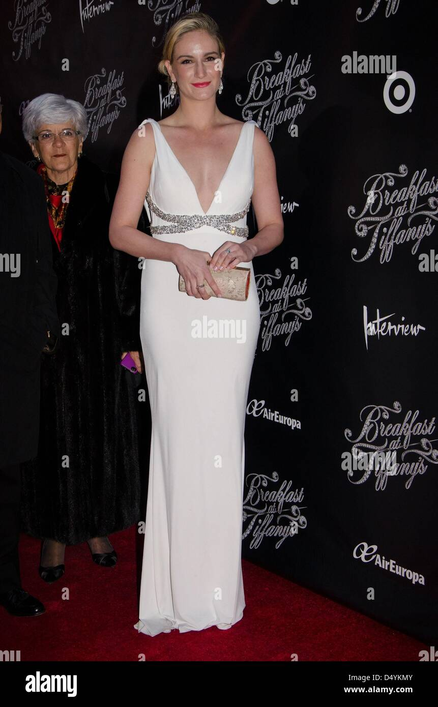 New York, NY, USA. March 20, 2013. in attendance for Truman Capote's Breakfast at Tiffany's Opening Night, - Stock Image