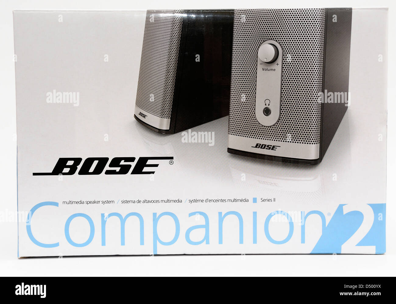 Bose companion 2 speakers - Stock Image