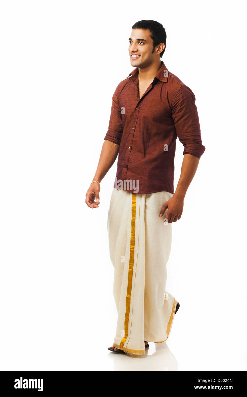 22eed07aea Young Man Thinking And Walking Indian Stock Photos & Young Man ...