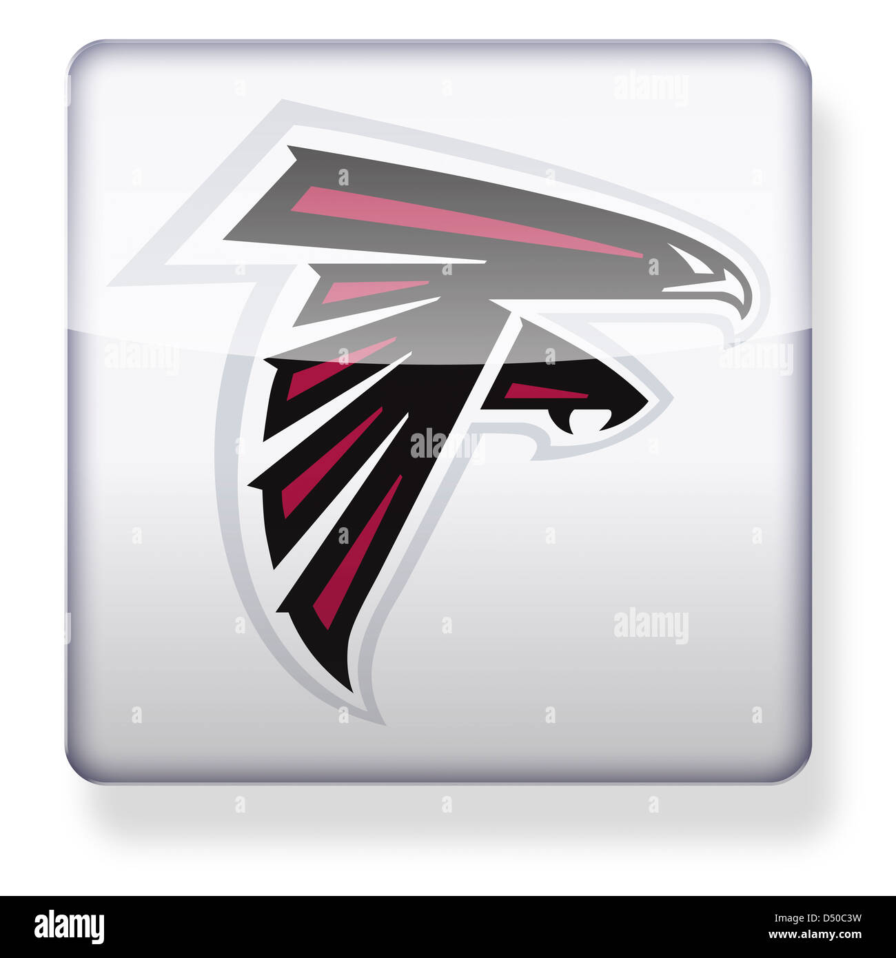 Atlanta Falcons Logo Cut Out Stock Images Pictures Alamy