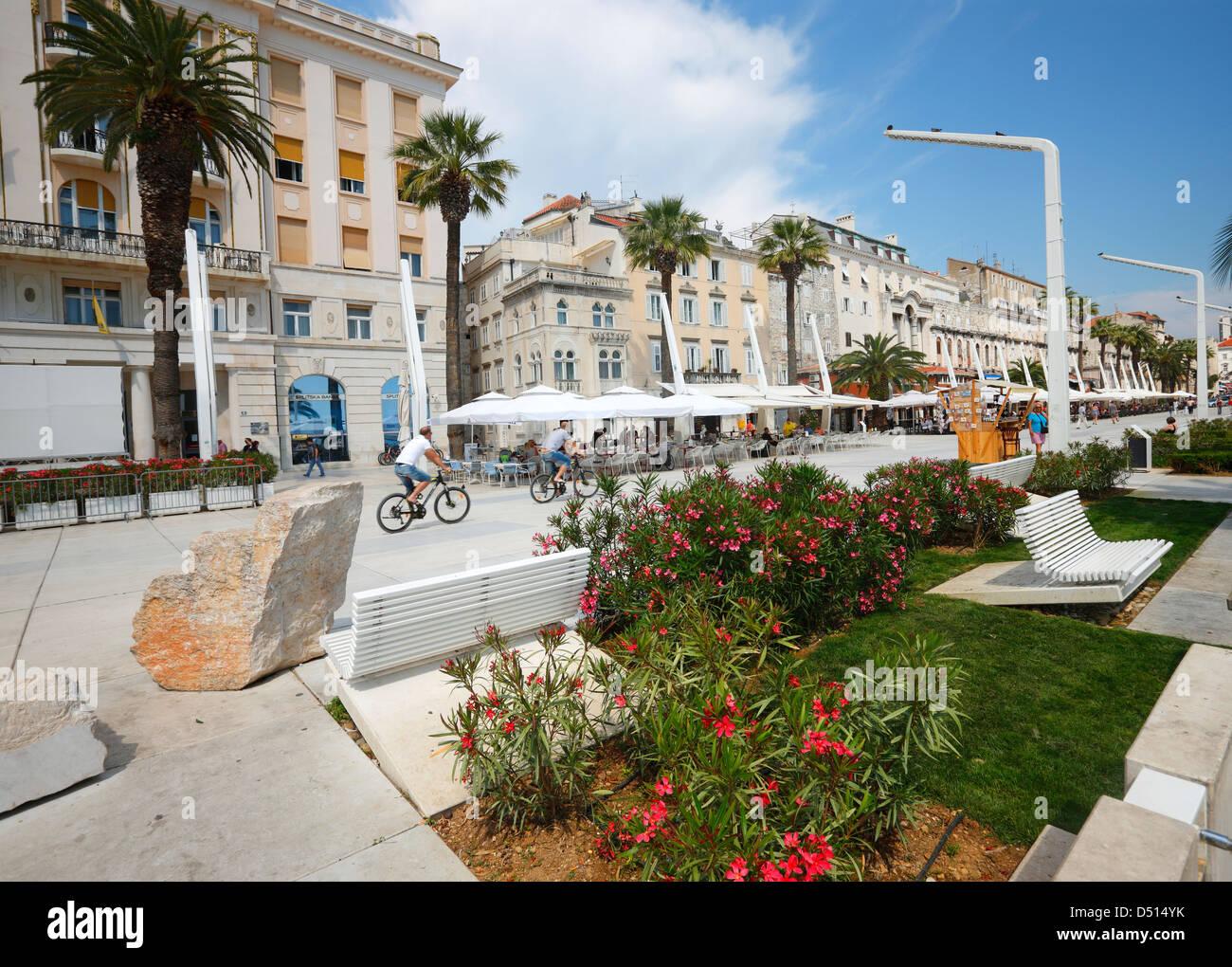 Split, riva - Stock Image