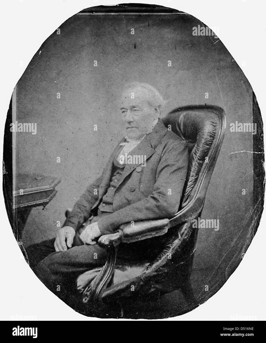 Rev. George Fisher, Headmaster of the Royal Hospital School 1834-36 - Stock Image