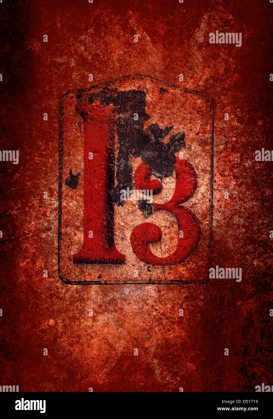 grunge 13 - Stock Image